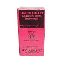 Кримишодхини гулика, Арья Вайдья Сала (Krimisodhini gulika, Arya Vaidya Sala) 100 табл