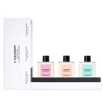 Подарочный набор парфюмированных средств для стирки L`EAUNDRY, 3 баночки по 60 мл