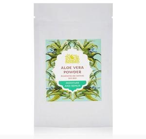 Маска для лица Алое Вера сухая, ИндиБерд (Aloe Vera Powder, Indibird) 50 гр