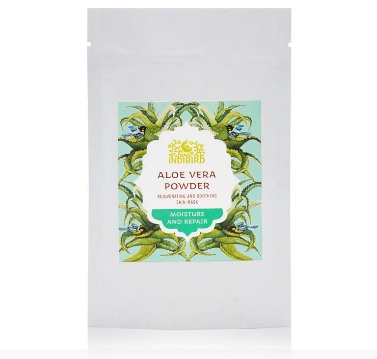 Маска для лица Алоэ Вера сухая (Aloe Vera Powder), 50 гр