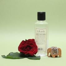 Гидролат розы, Кхади (Розовая вода, Khadi) 210 мл