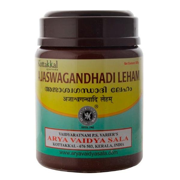 Аджашвагандхади лехьям (Ajaswagandhadi Lehyam) Arya Vaidya Sala, 500 гр