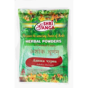 Ашока чурна, Шри Ганга (Ashoka churna, Shri Ganga) 100 гр