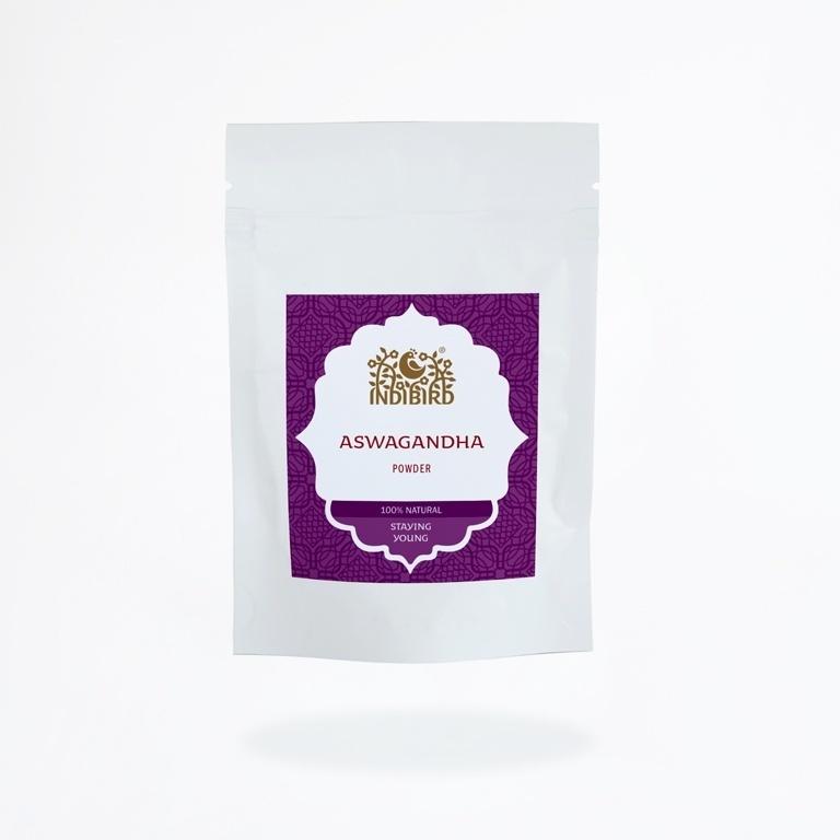 Ашвагандха чурна, Индиберд (Ashwagandha powder, Indibird), 100 гр
