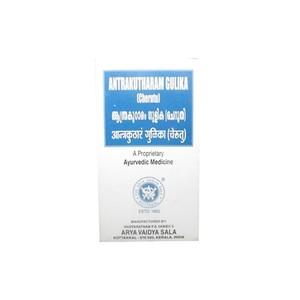 Антракутарам кватам, Арья Вайдья Сала (Cheriya Antrakutharam Gulika, Arya Vaidya Sala) 100 табл