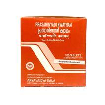 Прасараньяди кватам, Арья Вайдья Сала (Prasaranyadi kwatham, Arya Vaidya Sala) 100 табл