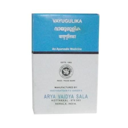 Вайю гулика, Арья Вайдья Сала (Kasthuryadi, Vayu Gulika, Arya Vaidya Sala) 100 табл