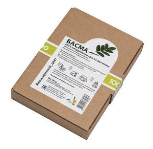 Натуральная краска Басма (порошок Indigofera Tinctoria), 100 гр