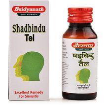Шадбинду тайлам капли в нос, Бадьянатх (Shadbindu Thailam, Baidyanath) 25 мл