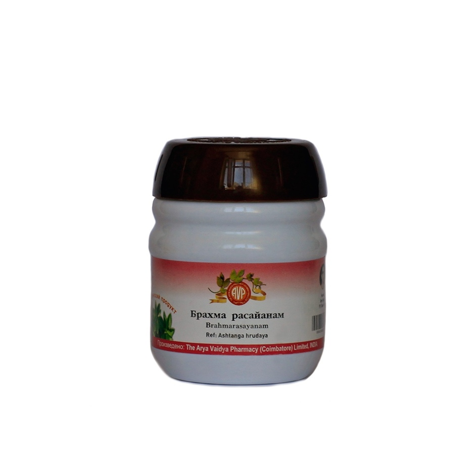Брахма расаяна, Арья Вайдья Фармаси (Брама, Brahma rasayana, Arya Vaidya Pharmacy) 200 гр