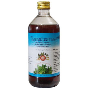 Дханвантарам тайлам, Арья Вайдья Фармаси (Dhanwantaram tailam, Arya Vaidya Pharmacy), 200 мл