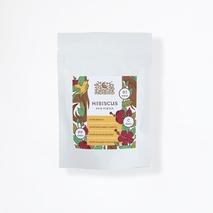 Порошок лепестков Гибискуса, ИндиБерд (Hibiscus Powder, IndiBird) 100 гр