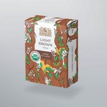 Хна светло-коричневая, ИндиБерд (Light Brown Henna, Indibird) 100 гр