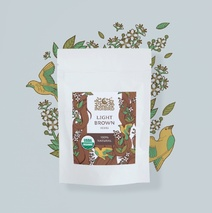 Хна светло-коричневая, ИндиБерд (Light Brown Henna, Indibird) 50 гр