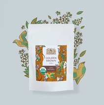 Хна золотисто-коричневая, ИндиБерд (Golden Brown Henna, Indibird) 50 гр