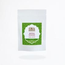 Мыльные орешки порошок, ИндиБерд (Ритха, Soap Nuts Powder, Indibird) 100 гр