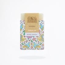 Аюрведическое мыло Сандал, ИндиБерд (Sandal Ayurvedic Soap, IndiBird) 100 гр