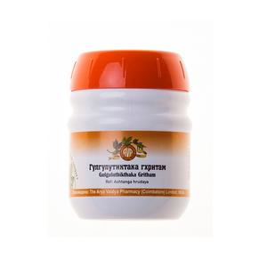 Гуггултиктака Гхритам, Арья Вайдья Фармаси (Gulguluthikthaka Gritham, Arya Vaidya Pharmacy), 150 гр