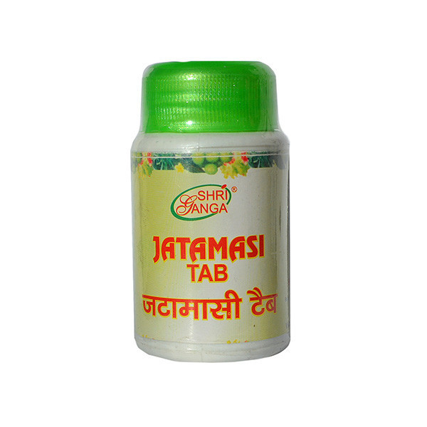 Джатаманси, Шри Ганга (Nardostachys Jatamansi, Shri Ganga), 60 табл