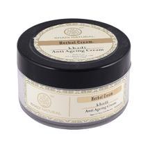Крем для лица предотвращающий старение кожи, Кхади (Herbal Anti Ageing, Khadi) 50 мл