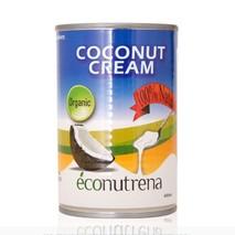 Органические кокосовые сливки (Econutrena Organic Coconut Cream), жирн. 22%, ж/банка, 400 мл