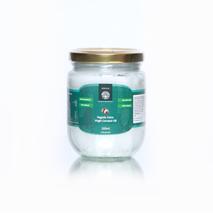 Органическое кокосовое масло холодного отжима нерафинированное (Organic Extra Virgin Coconut Oil, Heritage) 200 мл, стекл. бан.