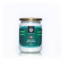 Органическое кокосовое масло холодного отжима нерафинированное (Organic Extra Virgin Coconut Oil, Heritage) 500 мл, стекл. бан.