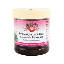 Кушманда Расаяна, Арья Вайдья Фармаси (Koosmanda Rasayanam, Arya Vaidya Pharmacy), 250 гр срок годности до 1.2018г