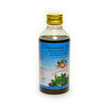 Махамаша тайла, Арья Вайдья Фармаси (Mahamasha Tailam, Arya Vaidya Pharmacy), 200 мл