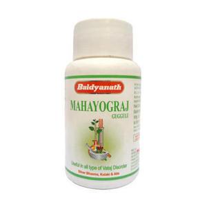 Махайогараджа гуггулу, Бадьянатх (Mahayograja guggulu, Baidyanath), 40 табл