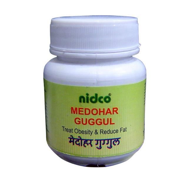 Медохар Гуггул, Нидко (Medohar guggul, Nidco), 160 табл