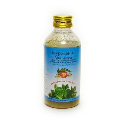 Муривенна тайлам, Арья Вайдья Фармаси (Муривена, Murivenna thailam, Arya Vaidya Pharmacy), 200 мл