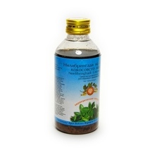 Нилибрингади кератайлам, Арья Вайдья Фармаси (Nilibringadi keratailam, Arya Vaidya Pharmacy), 200 мл