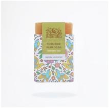Аюрведическое мыло Куркума и Алое Вера, ИндиБерд (Turmeric & AloeVeraAyurvedic Soap, IndiBird) 100 гр
