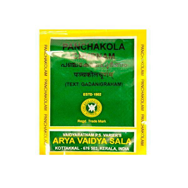 Панчакола чурна, Арья Вайдья Шала (Panchakola, Arya Vaidya Sala) 10 гр