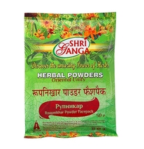 Рупникар чурна (Roopnikhar Powder Facepack) Shri Ganga, 50 гр