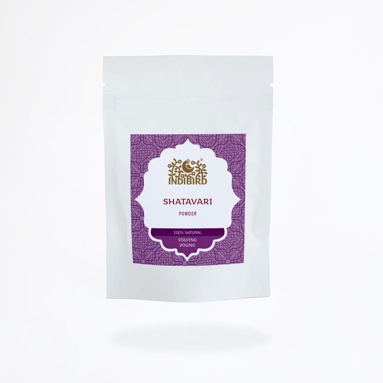 Шатавари порошок, Индиберд (Shatavari, Indibird) 100 гр