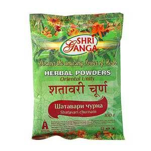 Шатавари чурна, Шри Ганга (Shatavari churna, Shri Ganga) 200 гр