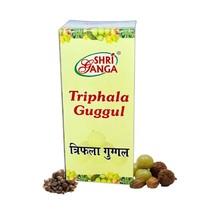 Трипхала гуггул, Шри Ганга (Трифала, Triphala guggul, Shri Ganga) 100 гр (в табл)