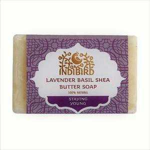 Аюрведическое мыло Лаванда Базилик Масло Ши, Золото Индии, 100 гр