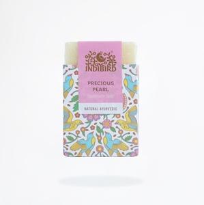 Аюрведическое мыло Драгоценный жемчуг, ИндиБерд (Precious Pearl Ayurvedic Soap, IndiBird) 100 гр