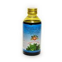 Текараджа тайла на основе касторового масла, Арья Вайдья Фармаси (Thekaraja thailam, Arya Vaidya Pharmacy) 200 мл