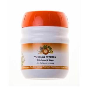 Тиктака Гхритам, Арья Вайдья Фармаси (Thikthaka Gritham, Arya Vaidya Pharmacy), 150 гр
