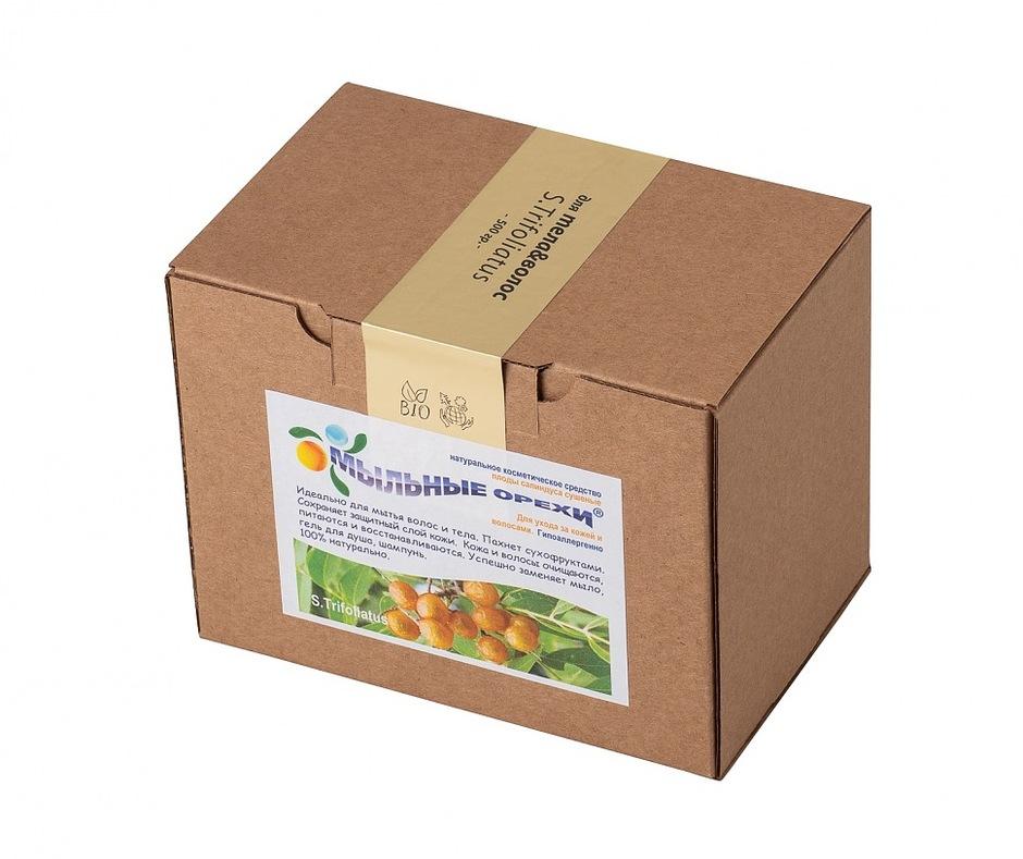 Мыльные орехи ® для тела и волос Трифолиатус (S.Trifoliatus), 500 гр