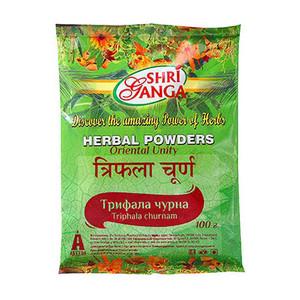 Трипхала чурна, Шри Ганга (Трифала, Triphala, Shri Ganga) 100 гр