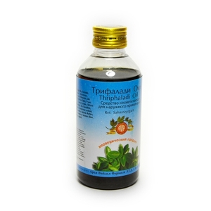 Трипхалади тайлам, Арья Вайдья Фармаси (Трифалади, Triphaladi thailam, Arya Vaidya Pharmacy), 200 мл